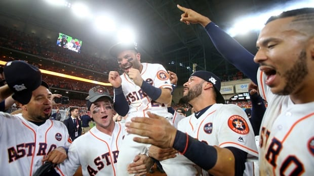 houston astros celebrate