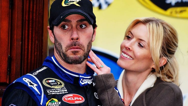 nascar drivers with famous wives