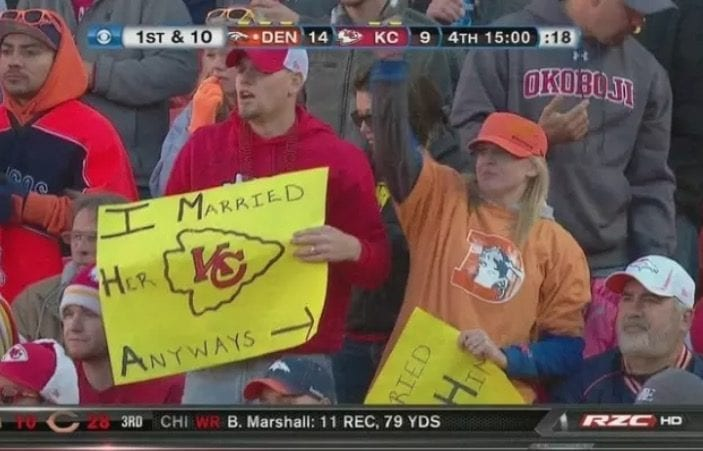 Game day signs so funny they deserve a medal - Sports Retriever 12567e818