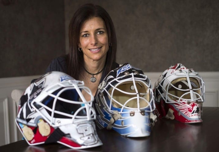 Manon Rheaume The First Woman To Play In An American Men S Pro
