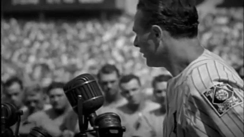 lou gehrig speech screen shot