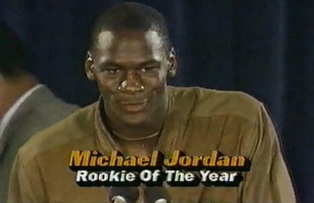jordan rookie of the year
