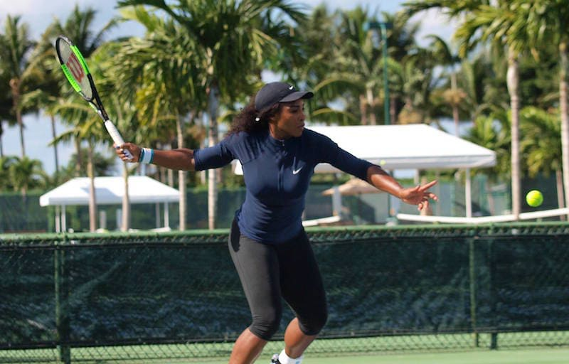 serena williams tennis facebook page