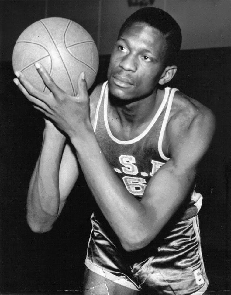 Bill Russell with USF