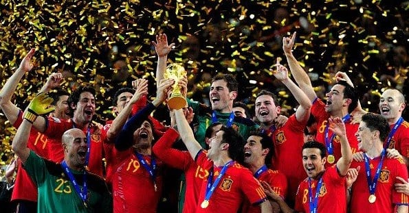 spain wins world cup