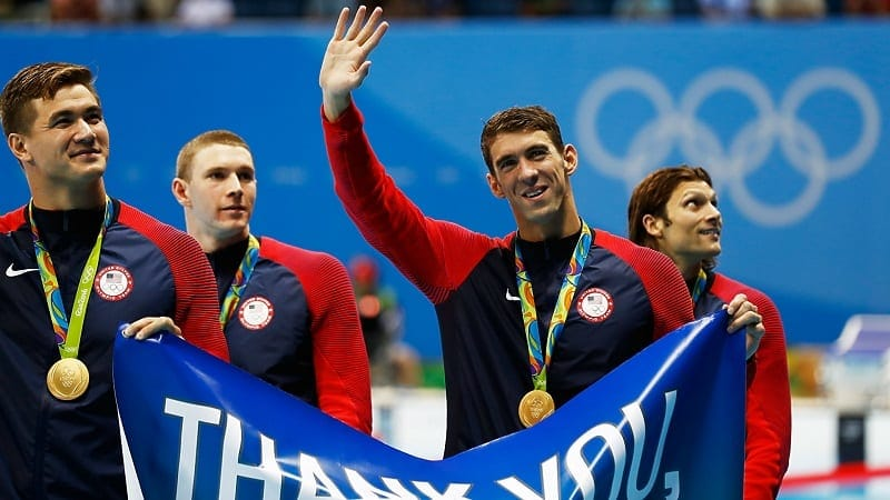michael phelps final gold