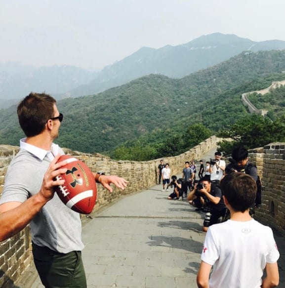Tom Brady China instagram