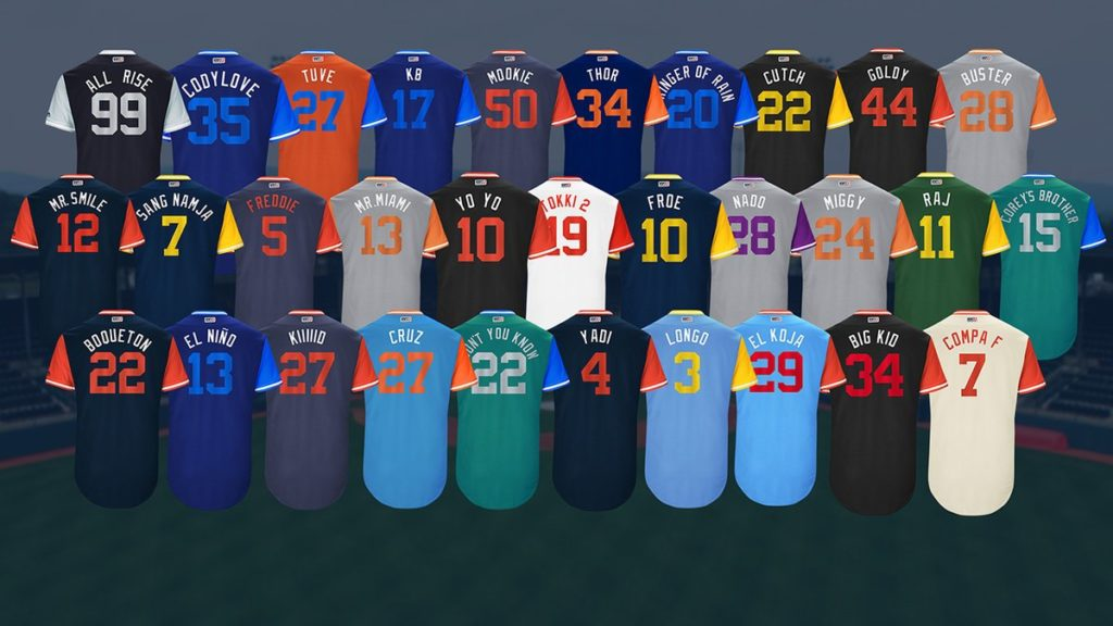 Players Weekend Jerseys