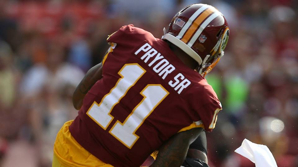 pryor redskins