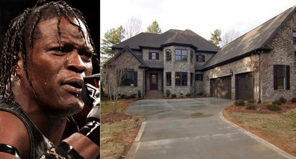 R-Truth house in North Carolina
