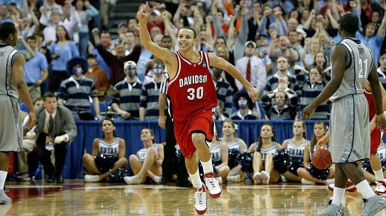15bd5b53ea7 There's lingering fairy dust from its Steph Curry-fueled run to the Elite 8  in 2008, and this will always make Davidson a buyable giant-killer.