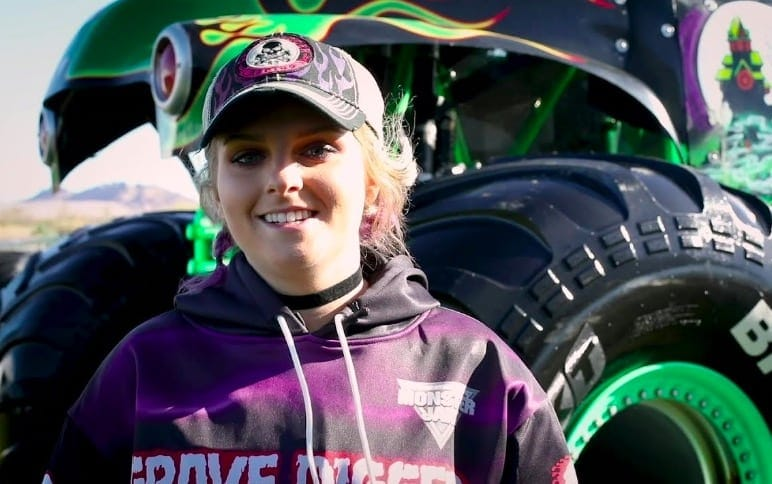 Life As The First Female Monster Truck Driver For The Legendary Grave Digger Team Sports Retriever